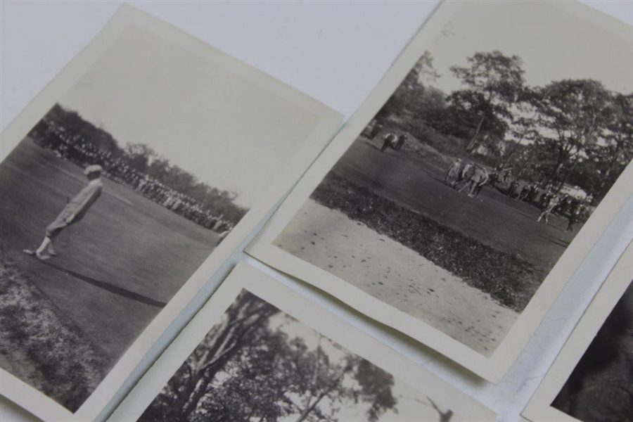 Thirteen (13) Previously Unknown Original Photos from 1913 US Open - Ralph Thomas Sourced