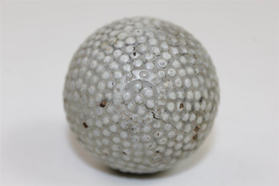 Vintage 'The Arrow' Bramble Golf Ball - 99% Paint