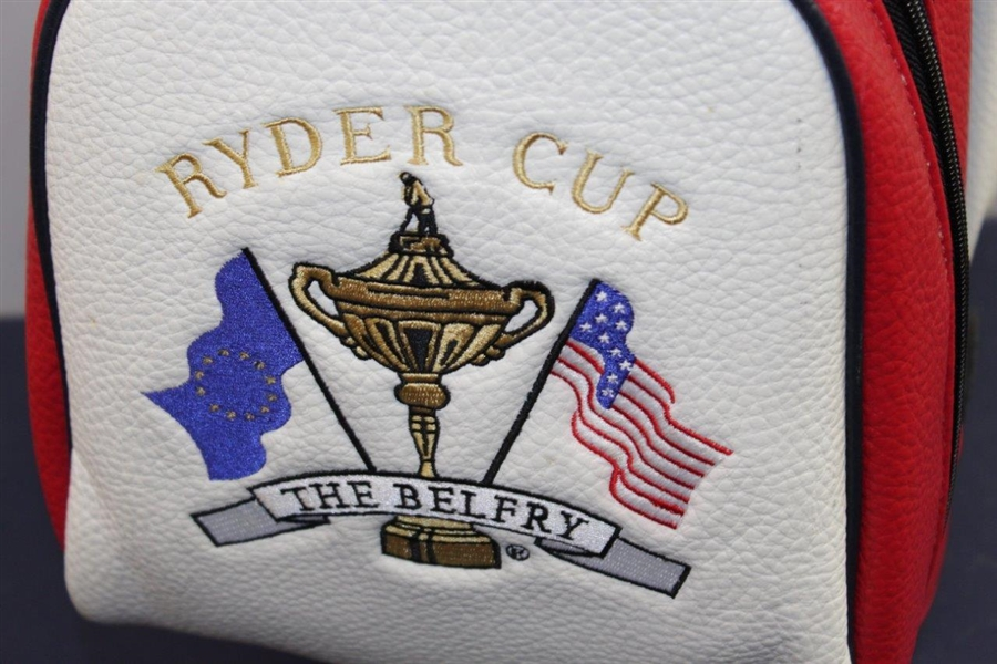 The Ryder Cup at The Belfry Red/White/Blue Golf Bag - Excellent Condition