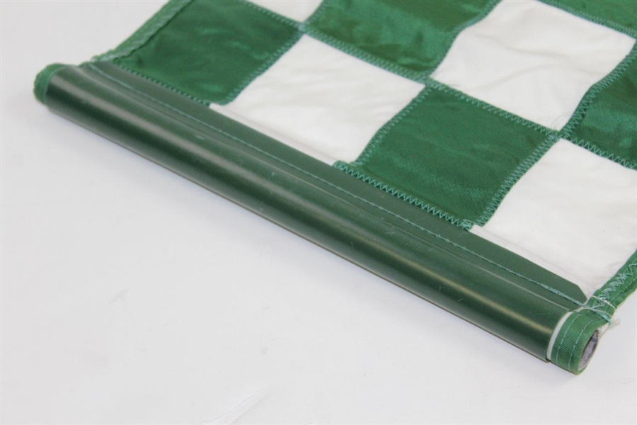 Cypress Point Embroidered Green & White Checkered Course Flown Pin Flag