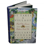 Hillary Rodham Clinton Signed It Takes A Village Book JSA #L17225