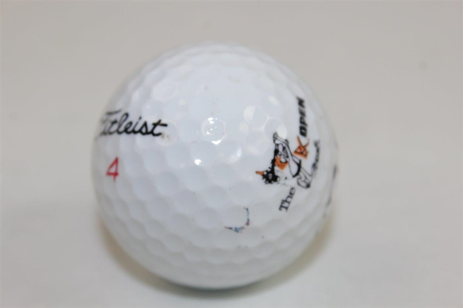 John Daly Signed B.C. Open Logo Golf Ball JSA ALOA