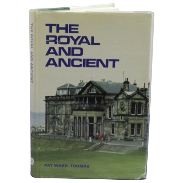 1980 'The Royal and Ancient' Book by Pat Ward-Thomas