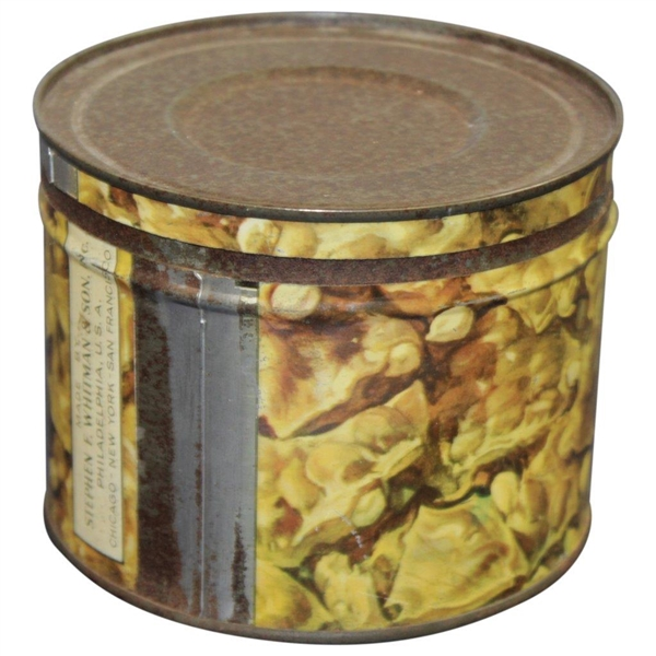 Vintage Whitman's 'Caddy' Peanut Brittle Tin Made by Stephen F. Whitman & Son, Inc.