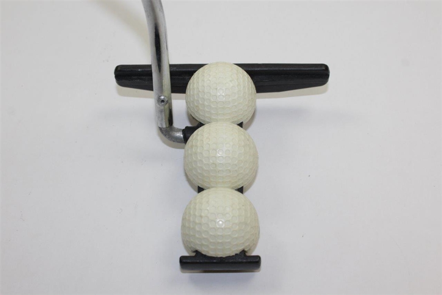 Dave Pelz 3-Ball Putter - Banned by USGA for Non-Conforming