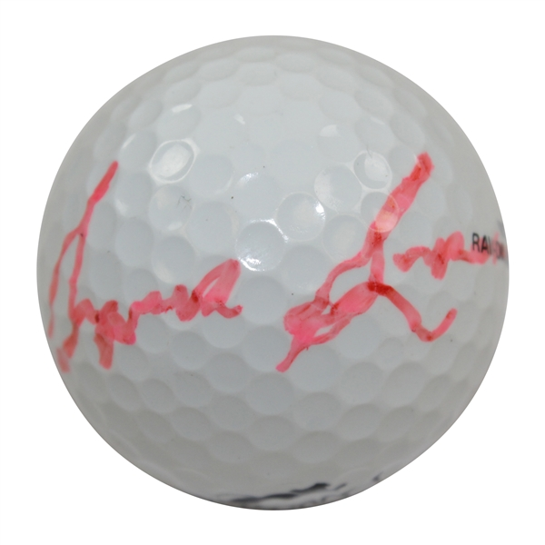Sam Snead Signed Masters Logo Golf Ball JSA ALOA