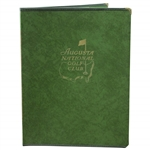 Augusta National Golf Club Member Club Conducting Tournament Instructions