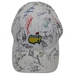 Multi-Signed Masters Tournament Stone Hat with Jack Nicklaus, Arnold Palmer, & others JSA ALOA