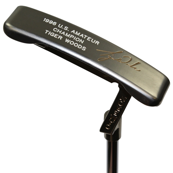 1996 Scotty Cameron US Amateur Champion 3rd Consecutive Amateur Win Ltd Ed Putter - Tiger Woods