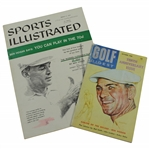Ben Hogan on Covers of 1960 October Golf Digest 10th Ann. Issue & 1957 Sports Illustrated