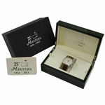 2011 Masters Tournament Ltd Ed 75th Anniversary Official SS Watch in Original Emerald Box #0641/1200