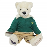 2005 Masters Tournament Ltd Ed Cooperstown Bear with Golf Club #23/100