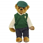 2007 Masters Tournament Ltd Ed Cooperstown Bear with Golf Club #14/100