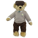 2012 Masters Tournament Ltd Ed Cooperstown Bear with Golf Club #14/150