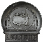 Undated Masters Tournament Pewter Mini Practice Putter Cup