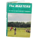 1961 The Masters 1st Edition Book by Tom Flaherty with Seldom Seen Dust Jacket