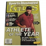 2001 Sports Illustrated For Kids Magazine - January - Tiger Cover