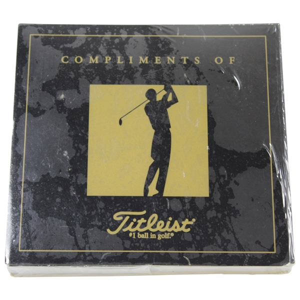 Titleist Champions of Golf: The Masters Collection Sealed Set - 1934-1997