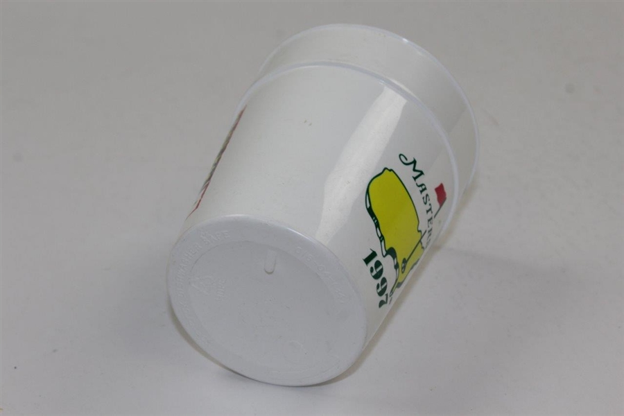 1997 Masters Tournament Logo & Clubhouse White Drinking Cup