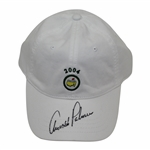 Arnold Palmer Signed 2004 Masters White Circle Logo Hat - Final Masters - Charles Coody Collection JSA ALOA