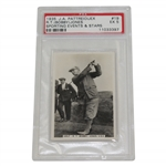 1935 Bobby Jones J.A. Pattreiouex Sporting Events & Stars Golf Card EX 5 PSA #11033397