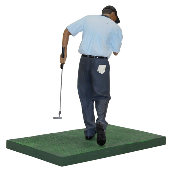 Tiger Woods Upper Deck Pointing at Hole Golf Figure