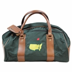 Masters Logo Large Hot-Z Leather & Canvas Duffel Bag