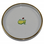 Masters Tournament Logo Gold Rimmed Candy Dish
