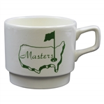 Classic Masters Tournament Porcelain Short White Coffee Mug/Cup