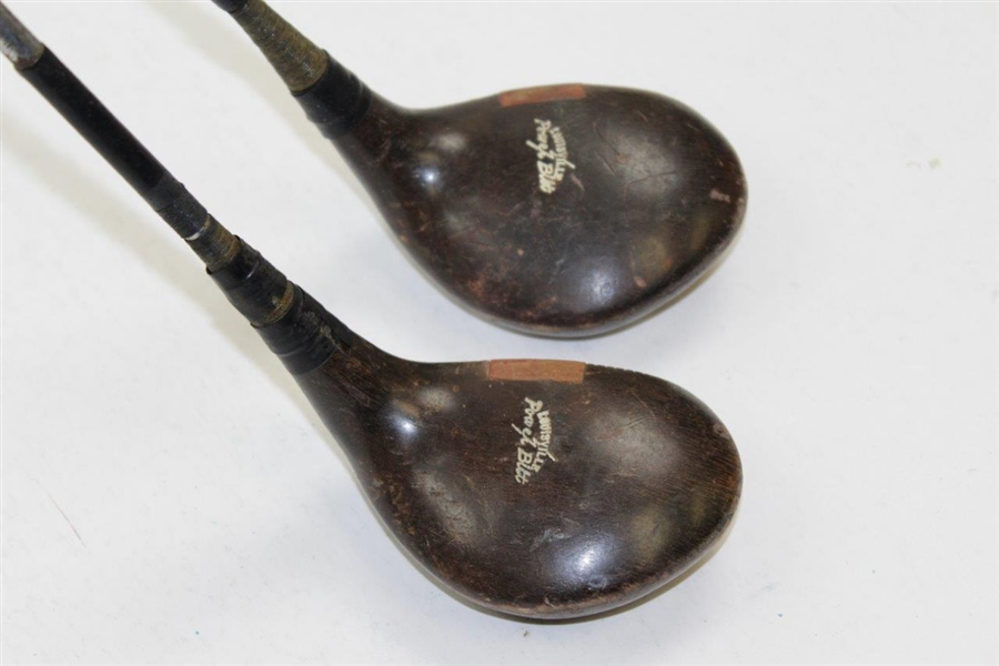 Horton Smith's Personal Louisville Power-Bilt H&B Custom Made Driver & 3-Wood