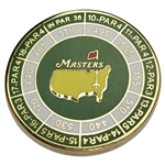 2019 Masters Tournament Junior Patron Course Hole Lengths Coin with Ball Marker