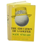 Sam Snead Signed 1962 The Education of a Golfer Book JSA #LL94663