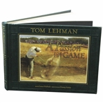 Tom Lehman signed A Passion For The Game 2005 JSA ALOA