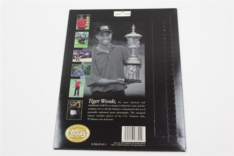 TOPPS Tiger Woods Photo Pack - Sealed