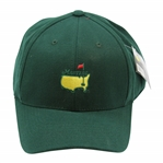 Masters Tournament Center Embroidered Logo Crowns Nest Collection Fitted Green Hat - 7 7/8