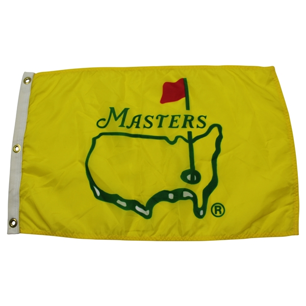 1995 Masters Yellow Screen Flag