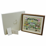 2020 Masters Tournament Augusta National Ltd Ed Series Pin Set #168/500 in Original Box with Cards