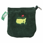 Classic 2002 Masters Tournament Logo Green Felt Valuables Pouch with Original Tag