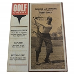 Bobby Jones on Cover of 1964 Golf Digest Magazine - Masters Preview - April
