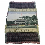 Masters Tournament Clubhouse Center Logo Large Throw Blanket