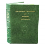 Memorial Tournament Leather Limited & Numbered Edition Chick Evans Golf Book