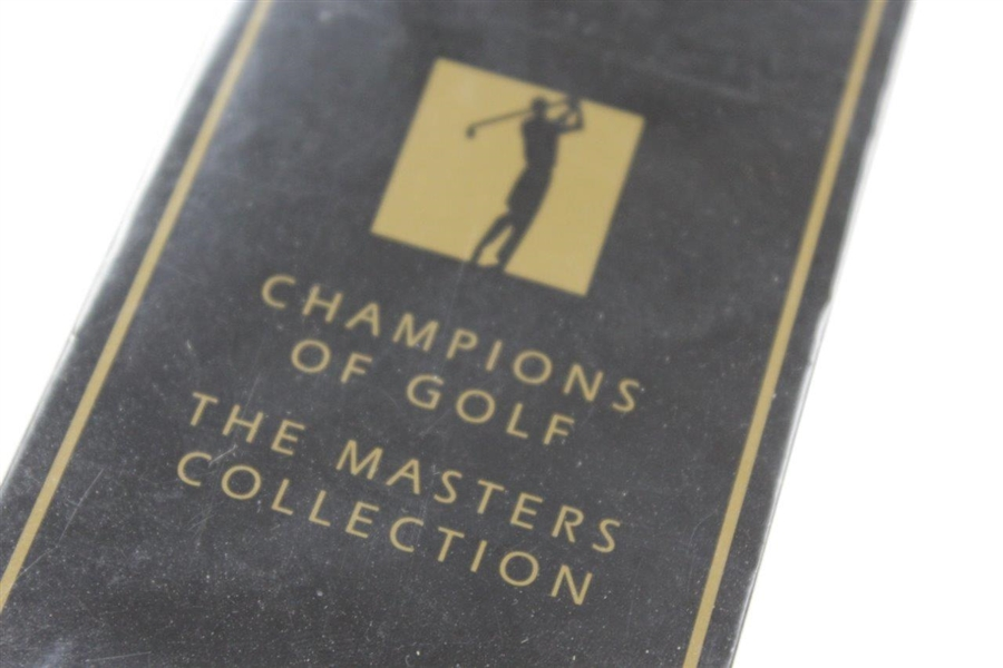 1997 Champions of Golf The Masters Collection Full Set of Golf Cards with Tiger Rookie – Sealed