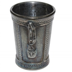 Vintage Silver Plated Golf Bag Themed Shot Cup