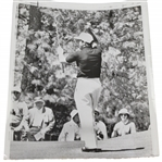 Gary Player 4/8/61 Throws Arms Up In The Air @ Masters Cool Shot