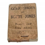 Vintage Bobby Jones Flip Book Golf Shots by Bobby Jones
