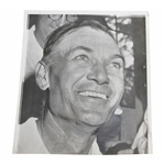 "Ben Hogan 6/16/56 ""smiling At The U.S Open"" Wire Photo"