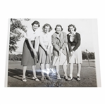 Womens AM Semifinalists Brookline 9/12/41 Goldthwaite, Newell, Page, Sigel Wire Photo