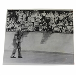 Arnold Palmer 6/16/1963 Press Photo Grimaces as Putt Goes By