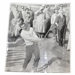 "Gary Player 1/17/63 ""Big Blast Out"" Wire Photo"