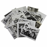 Twenty (20) President Eisenhower 1950s Military & Presidential Wire Photos with Some Golf